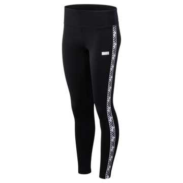 New Balance NB Athletics Classic Logo Legging, Black