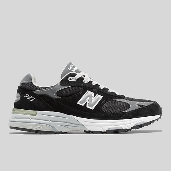 New Balance Womens Made in US 993, WR993BK