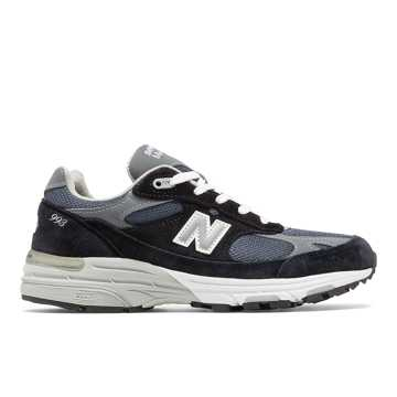 New Balance Made in US 993, Natural Indigo with Grey