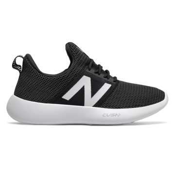 New Balance RCVRY v2, Black with White