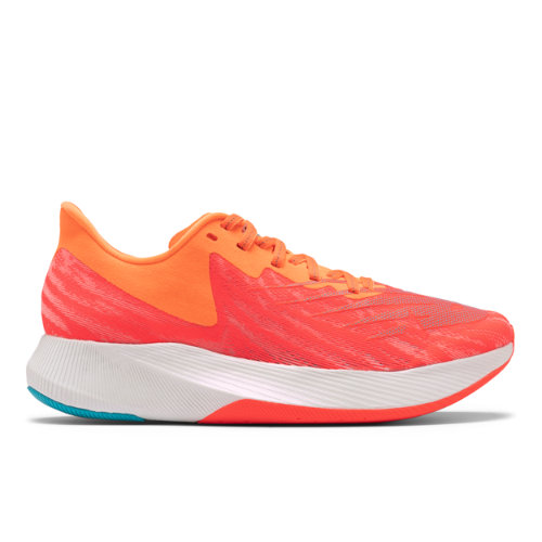 New Balance Fuelcell TC - Mujeres EU 41.5, Red/Orange/Blue
