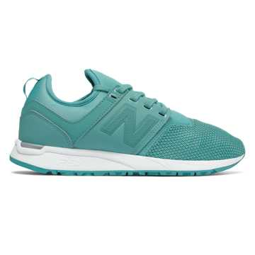 New Balance 247 Classic, Aquarius with White