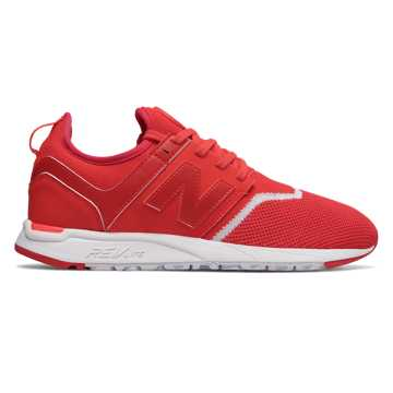 New Balance 247 Sport, Red with White