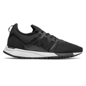 new balance 247 black leather nz