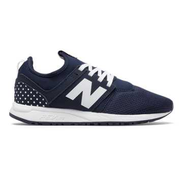 New Balance 247 Fun Pack, Navy with White