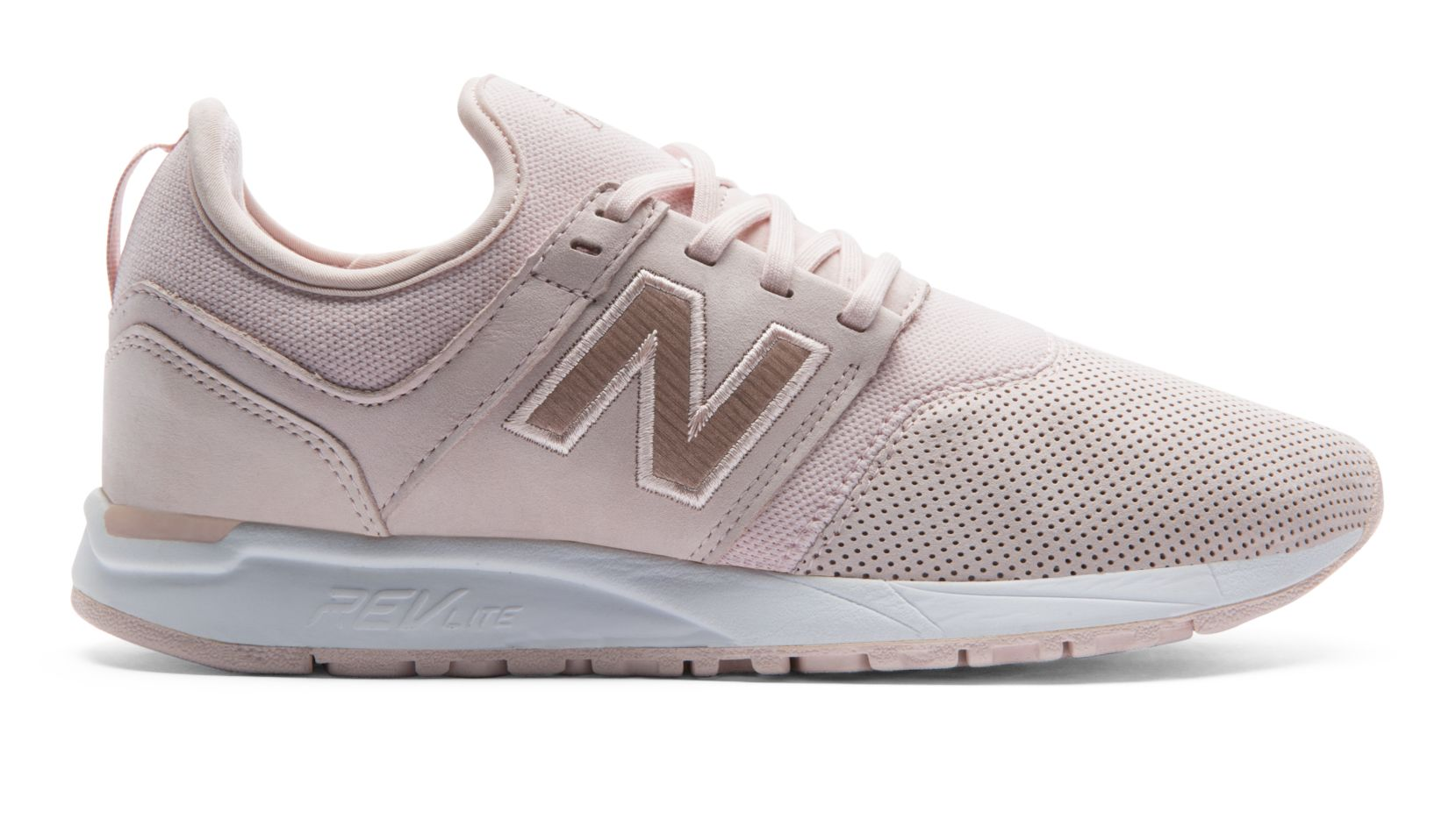 new balance 247 trainers in premium nubuck in navy