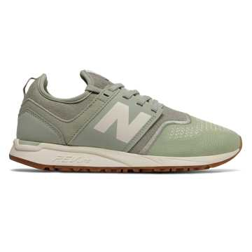 New Balance 247, Silver Mint with Angora