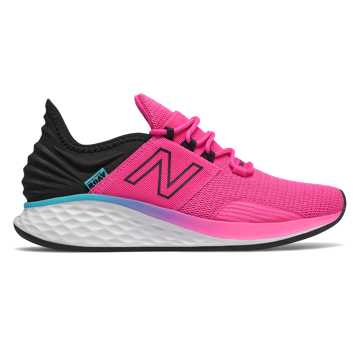 New Balance Fresh Foam Roav Boundaries, Peony with Black