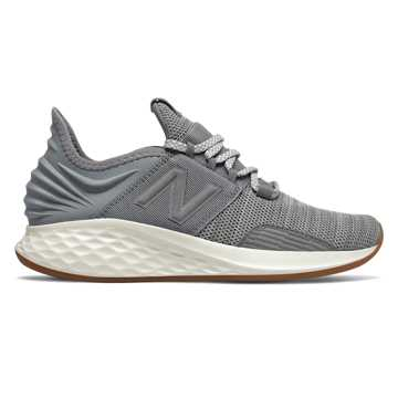 New Balance Fresh Foam Roav Knit, Gunmetal with Light Aluminum