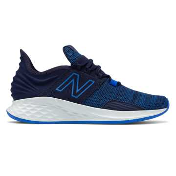 New Balance Fresh Foam Roav Knit, Pigment with Vivid Cobalt