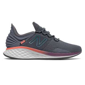 New Balance Fresh Foam Roav Boundries, Thunder with Dark Neptune