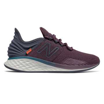 New Balance Fresh Foam Roav Boundaries, Dark Currant with Navy