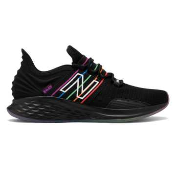 New Balance Pride pack Fresh Foam Roav女款跑步运动鞋, 黑色