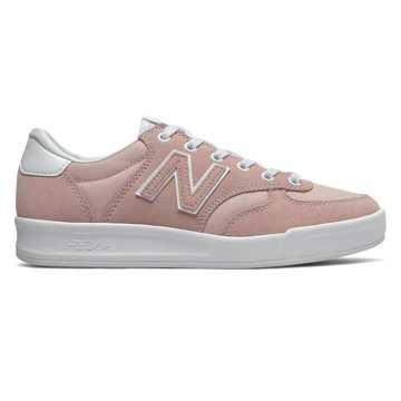 New Balance 300系列女款復古板鞋 輕量舒適, 粉色