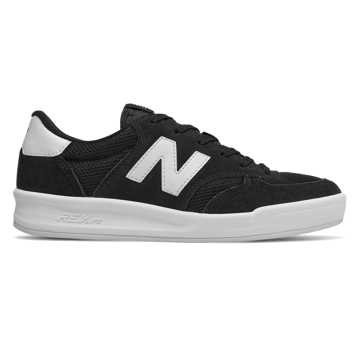 New Balance 300, Black with Sea Salt