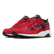 New Balance 580 Considered Chaos, Red with Black & White