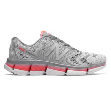 New Balance Rubix, White with Steel & Guava