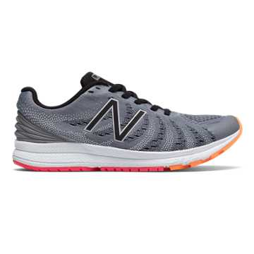 New Balance FuelCore Rush v3, Steel with Black & Vivid Tangerine