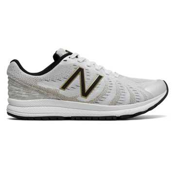 New Balance FuelCore Rush v3 Viz Pack, White with Black & Gold
