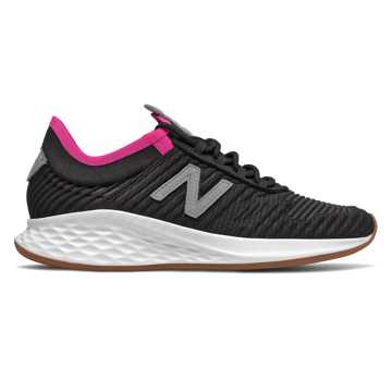 New Balance Fresh Foam Roav Fusion女款跑步运动鞋, 黑色