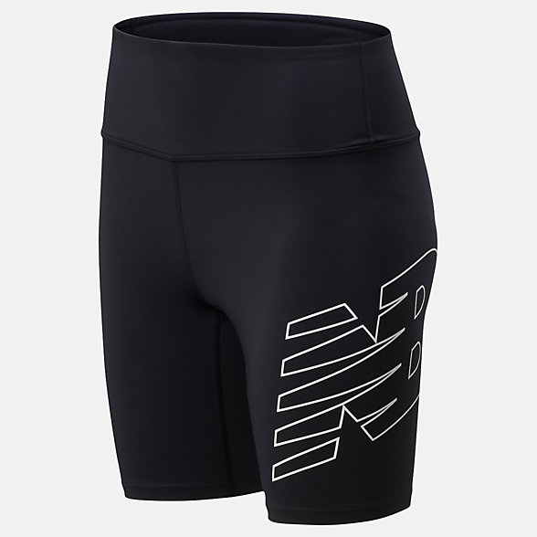 NB Achiever Bike Short, WS01169BK