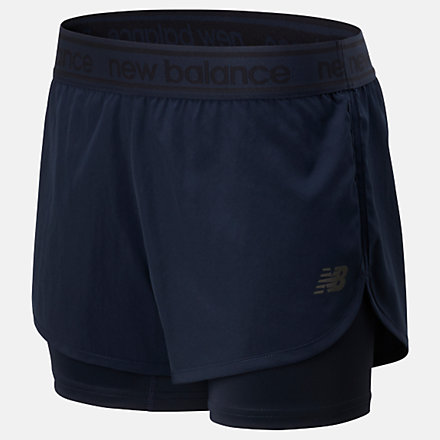 New Balance Short 2 en 1 Relentless, WS01177ECL image number null