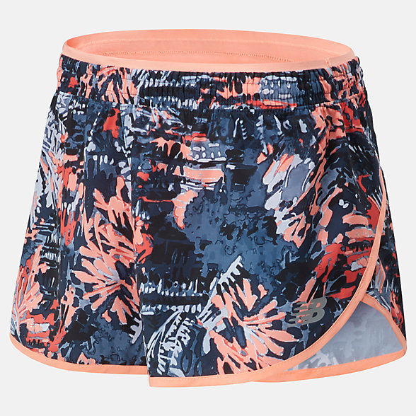 New Balance Printed Accelerate Short 2.5 Inch, WS01207GPK