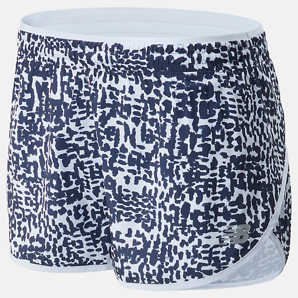 New Balance Printed Accelerate Short 2.5 Inch, WS01207MND