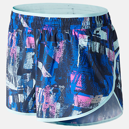 New Balance Printed Accelerate Short 2.5 Inch, WS01207NML image number null