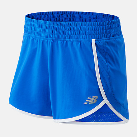New Balance Accelerate Stretch Woven Short 3 Inch, WS01208CO image number null