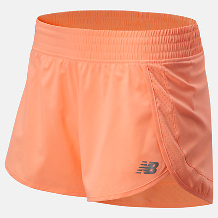 New Balance Accelerate Stretch Woven Short 3 Inch, WS01208GPK image number null