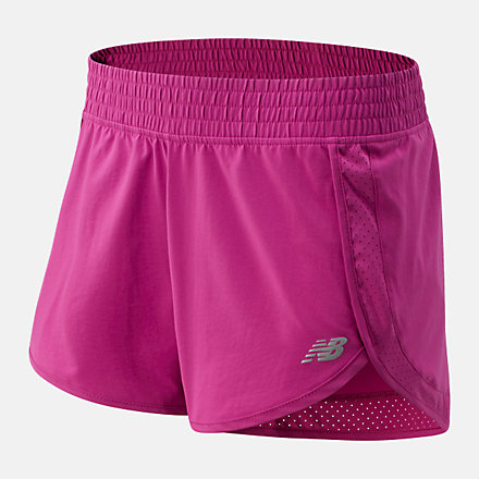 New Balance Accelerate Stretch Woven Short 3 Inch, WS01208JJL image number null