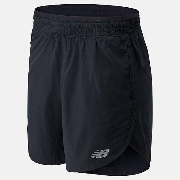 New Balance Accelerate Short 5 Inch, WS01209BK