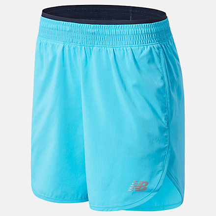 New Balance Accelerate Short 5 Inch, WS01209VLS image number null