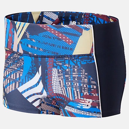 New Balance Printed Fast Flight Hotshort, WS01226ATY image number null