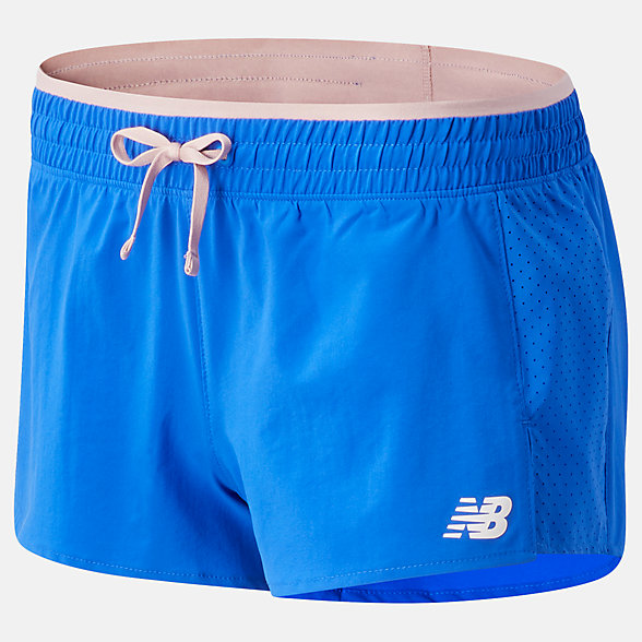 New Balance Fast Flight Split Short, WS01227CO
