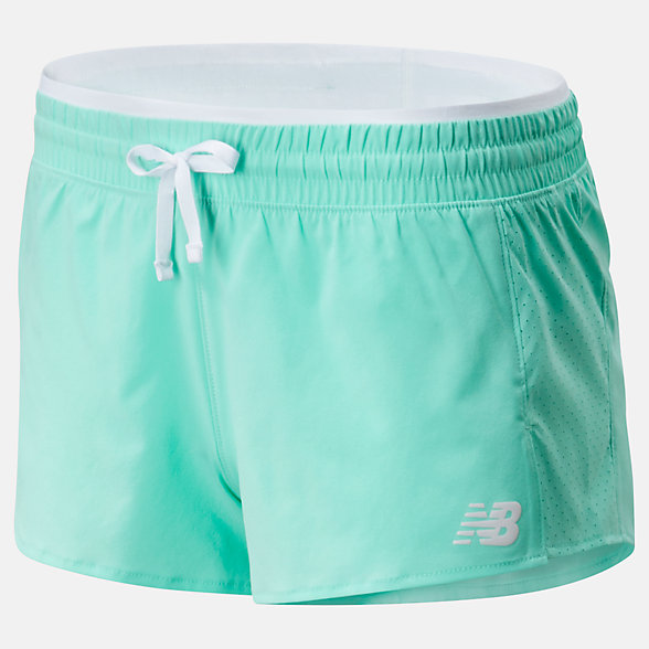 NB Fast Flight Split Shorts, WS01227NMT