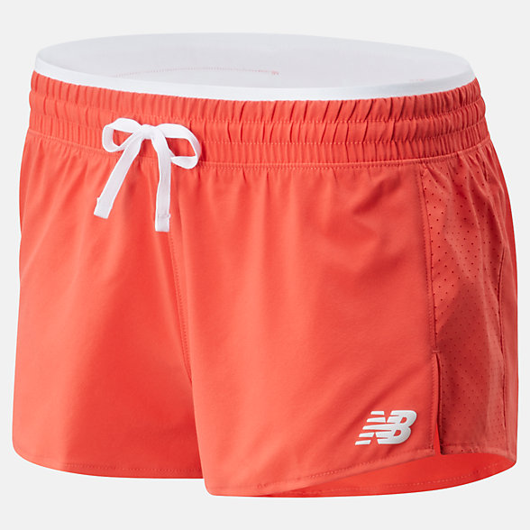 New Balance Fast Flight Split Short, WS01227TOR