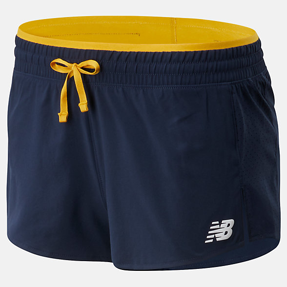 New Balance Fast Flight Split Short, WS01227VGL