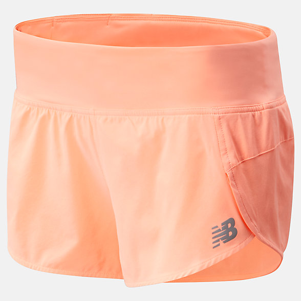 NB Impact Run Shorts 3 inch, WS01239GPK