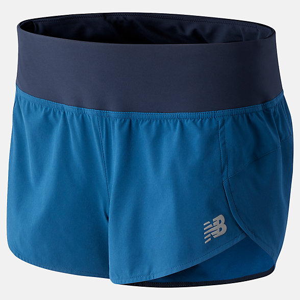 New Balance Impact Run Short 3 Inch, WS01239RGV