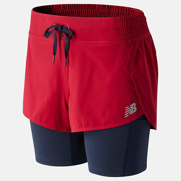 NB Impact Run 2 in 1 Shorts, WS01241NCR