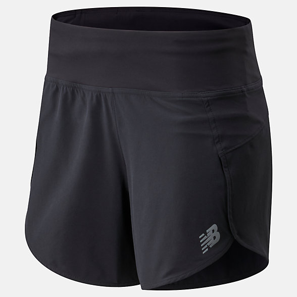 New Balance Impact Run Short 5 Inch, WS01243BK