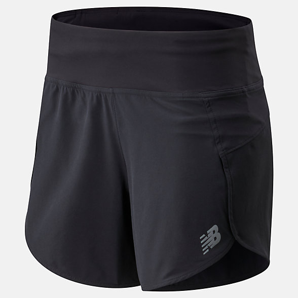NB Impact Run Short 5 Inch, WS01243BK