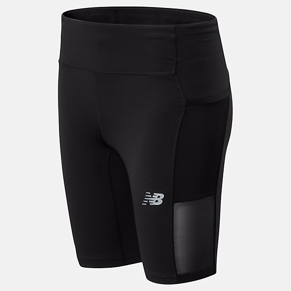 New Balance Impact Run Bike Short, WS01244BK