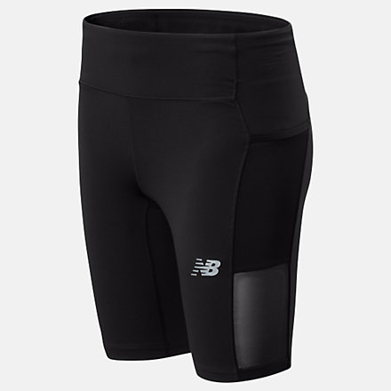New Balance Short cycliste Impact Run, WS01244BK image number null