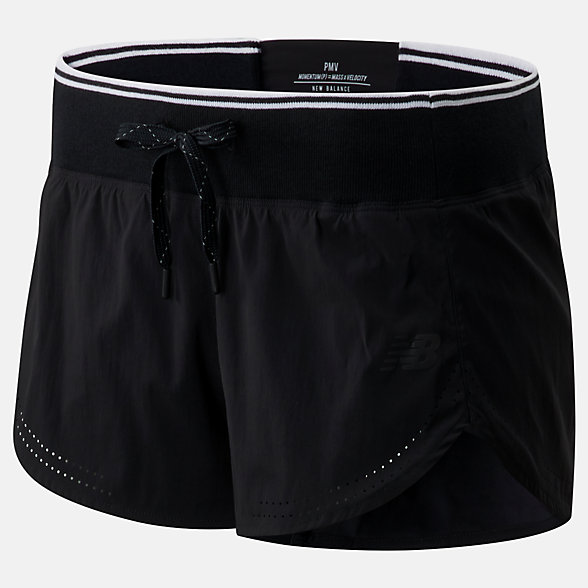 New Balance Archive Run Short, WS01286BK