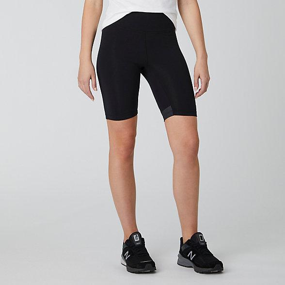 NB Sport Style Optiks Biker Short, WS01502BK