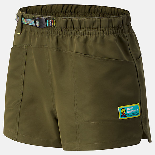NB Pantalones cortos NB Athletics Trail, WS01512OLG