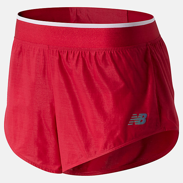 NB Q Speed Track Shorts, WS03265NCR